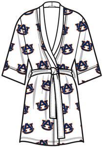 Emerson Street Auburn Womens Spa Kimono Robe