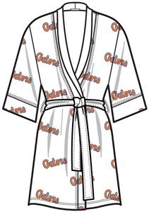 Emerson Street Florida Gator Women Spa Kimono Robe