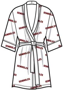 Emerson Street Florida State Women Spa Kimono Robe