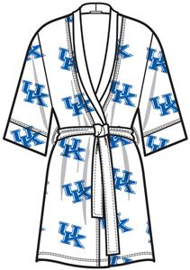 Kentucky Wildcats Womens Spa Kimono Robe