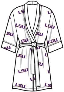 Emerson Street LSU Tigers Womens Spa Kimono Robe