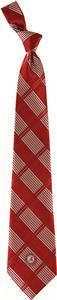 Eagles Wings NCAA Alabama Woven Plaid Tie