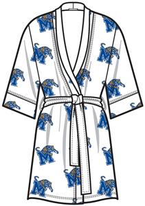 Emerson Street Memphis Womens Spa Kimono Robe
