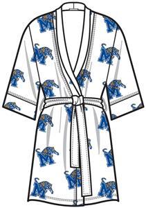Emerson Street Memphis Womens Spa Kimono Robe