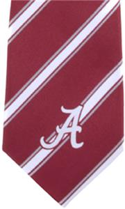 Eagles Wings NCAA Alabama Woven Poly 1 Tie
