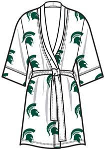 Emerson Street Michigan ST Womens Spa Kimono Robe