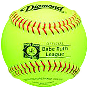 "Diamond 12RY BR Babe Ruth League 12"" Softballs CO"