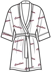 South Carolina Womens Spa Kimono Robe