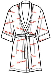 Emerson Street Texas Tech Womens Spa Kimono Robe
