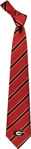 Eagles Wings NCAA Georgia Woven Poly 1 Tie