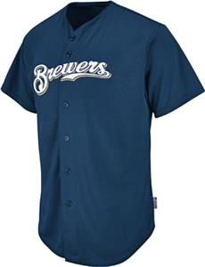 MLB Cool Base Milwaukee Brewers Baseball Jersey