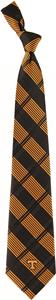 Eagles Wings NCAA Tennessee Volunteers Plaid Tie