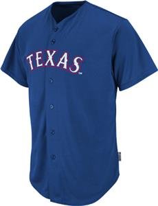 MLB Cool Base Texas Rangers Baseball Jersey