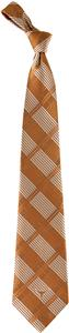 Eagles Wings NCAA Texas Longhorns Woven Plaid Tie