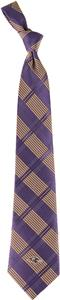 Eagles Wings NFL Baltimore Ravens Woven Plaid Tie