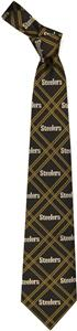 Eagles Wings NFL Steelers Woven Poly 2 Tie