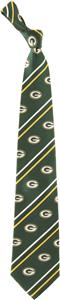 Eagles Wings NFL Packers Cambridge Stripe Silk Tie