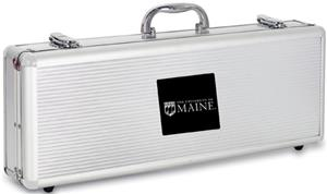 Picnic Time University of Maine Fiero BBQ Set