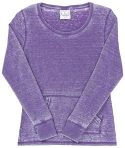 J America Women Vanity Zen Thermal Long Sleeve Tee