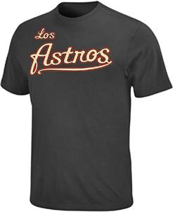 MLB Hispanic Houston Astros Crewneck Jersey