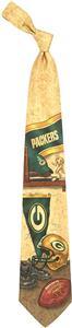 Eagles Wings NFL Packers Nostalgia 2 Silk Tie