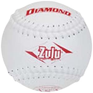 "Diamond Zulu White Stitch ASA 12"" Softballs"