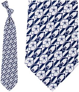 Eagles Wings NFL Dallas Cowboys Nexus Silk Tie