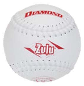 "Diamond Zulu Synthetic Cover 11"" ASA Softballs"