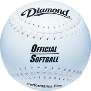 Diamond Official Game and Practice Softballs C/O