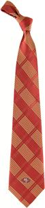 Eagles Wings NFL 49ers Woven Plaid Tie