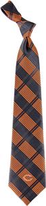 Eagles Wings NFL Chicago Bears Woven Plaid Tie