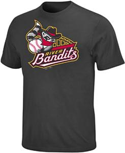 Minor League Quad Cities River Bandits Crewneck