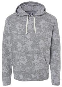 J America Tri-Blend Pullover Fleece Hoodie