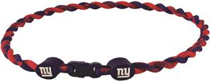 Eagles Wings NFL Giants Titanium Twist Necklaces