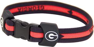 Eagles Wings NCAA Georgia Titanium Sport Bracelets