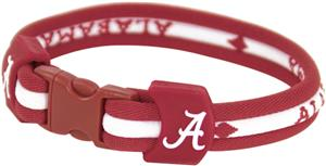Eagles Wings NCAA Alabama Titanium Sport Bracelets