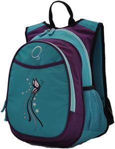 O3 Kids Turquoise Butterfly Backpack With Cooler