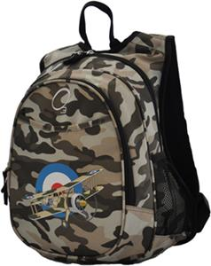 O3 Kids Camo Airplane Backpack With Cooler