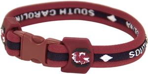 Eagles Wings NCAA SC Titanium Sport Bracelet