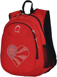 O3 Kids Flag Heart Red Backpack With Cooler