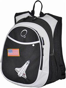 O3 Kids Black Space Backpack With Cooler