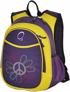 O3 Kids Peace Flower Backpack With Cooler