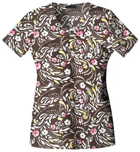 Cherokee Women&#39;s Runway V-Neck Scrub Tops
