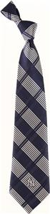 Eagles Wings MLB New York Yankees Woven Plaid Tie