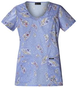 Cherokee Women's Runway Scoop Neck Tunic Scrub Top