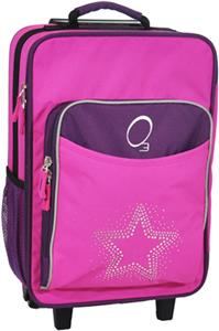 O3 Kids Bling Rhinestone Star Suitcase With Cooler