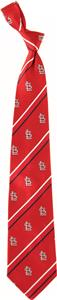 Eagles Wings MLB Cardinals Cambridge Stripe Tie