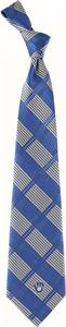 Eagles Wings MLB Milwaukee Brewers Woven Plaid Tie