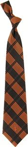 Eagles Wings MLB Giants Woven Plaid Tie