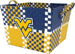 Eagles Wings NCAA West Virginia Woven Basket